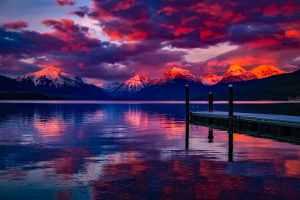 beautiful calm clouds dark